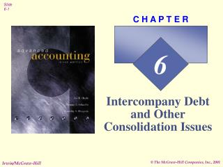 Intercompany Debt and Other Consolidation Issues