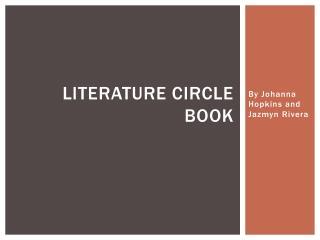Literature Circle Book