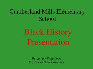 Cumberland Mills Elementary School