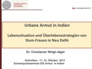 Urbane  Armut  in  Indien