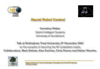 Neural Robot Control