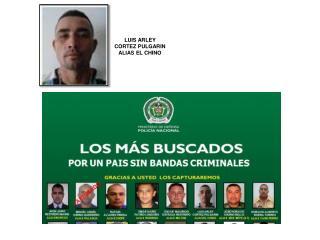 LUIS ARLEY  CORTEZ  PULGARIN  ALIAS EL CHINO