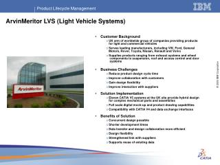 ArvinMeritor LVS (Light Vehicle Systems)