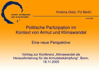 Kristina Dietz, FU Berlin