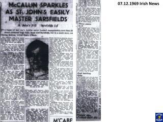 07.12.1969 Irish News