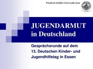 JUGENDARMUT  in Deutschland