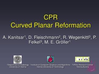 CPR Curved Planar Reformation