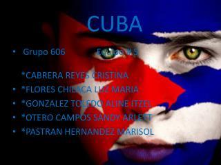 EQUIPO #:5 * CABRERA REYES CRISTINA *FLORES CHILACA LUZ MARIA *GONZALES TOLEDO ALINE ITZEL