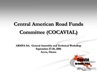 Central American Road Funds Committee (COCAVIAL)