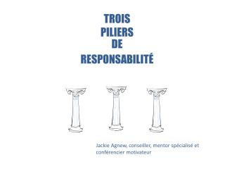 TROIS PILIERS DE RESPONSABILITÉ