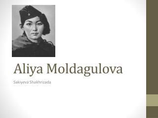 Aliya Moldagulova