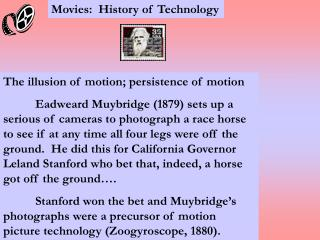 Movies:  History of Technology