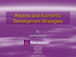 Airports and Economic Development Strategies