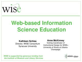 Web-based Information Science Education