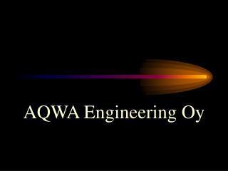 AQWA Engineering Oy