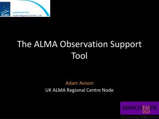 The ALMA Observation Support Tool