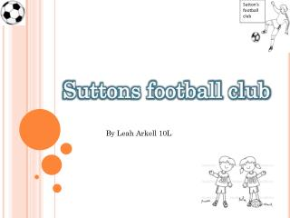 Suttons football club