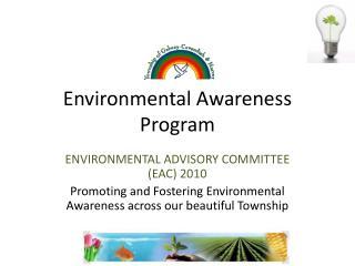 Environmental Awareness Program