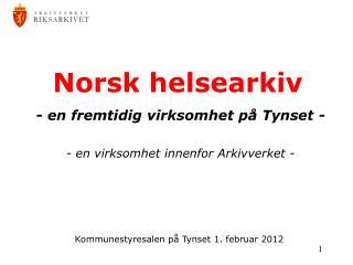 Norsk helsearkiv
