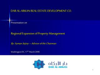 DAR AL-ARKAN REAL ESTATE DEVELOPMENT CO.