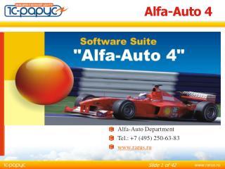 Alfa-Auto 4