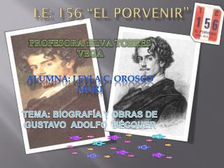 I.E: 156 �EL PORVENIR�