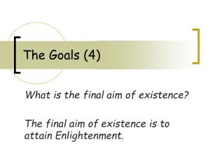 The Goals (4)