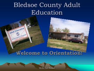 Bledsoe County Adult Education