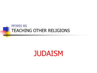 PP3955 RS TEACHING OTHER RELIGIONS