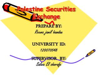 Palestine Securities Exchange