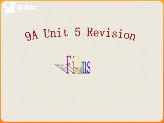 9A Unit 5 Revision