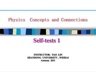 Self-tests 1