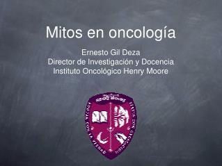 Mitos en oncología