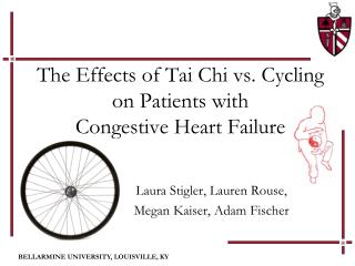 The Effects of Tai Chi vs. Cycling  on Patients with  Congestive Heart Failure