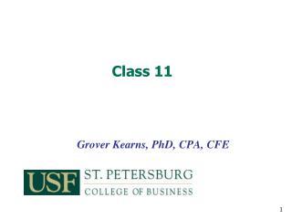 Grover Kearns, PhD, CPA, CFE
