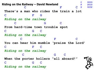 Riding on the Railway – David Newland