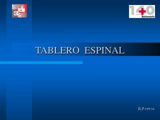 TABLERO  ESPINAL
