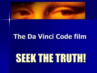 The Da Vinci Code film