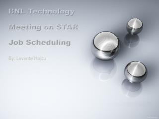 SUMS ( STAR Unified Meta Scheduler )