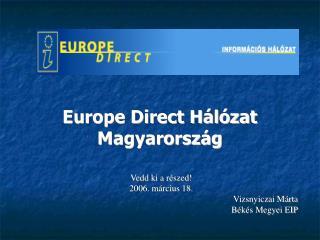 Europe Direct Hálózat Magyarország