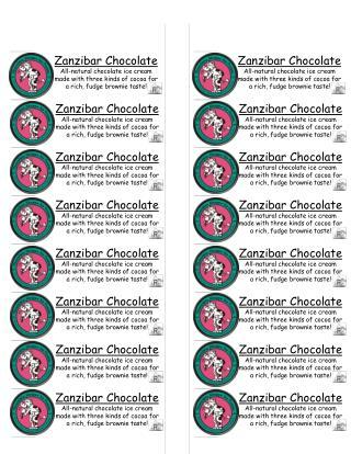 Zanzibar Chocolate
