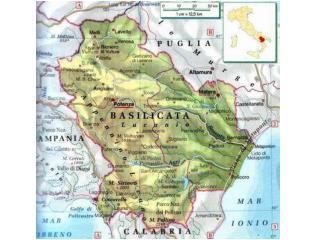 Regione Basilicata Classificazione del territorio