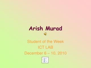 Arish Murad
