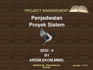 Penjadwalan  Proyek Sistem