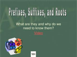 What are they and why do we need to know them? Video