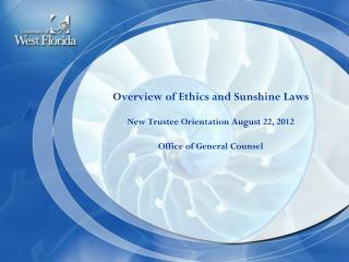 Ethics Overview Applicability