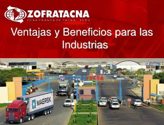 Ventajas y Beneficios para las Industrias