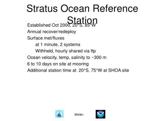 Stratus Ocean Reference Station