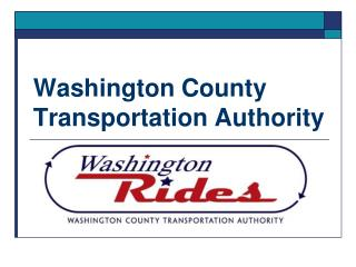 Washington County Transportation Authority