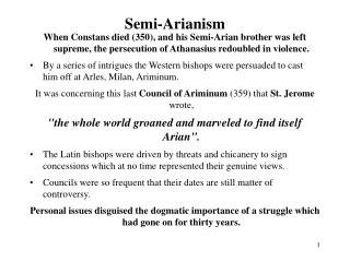 Semi-Arianism